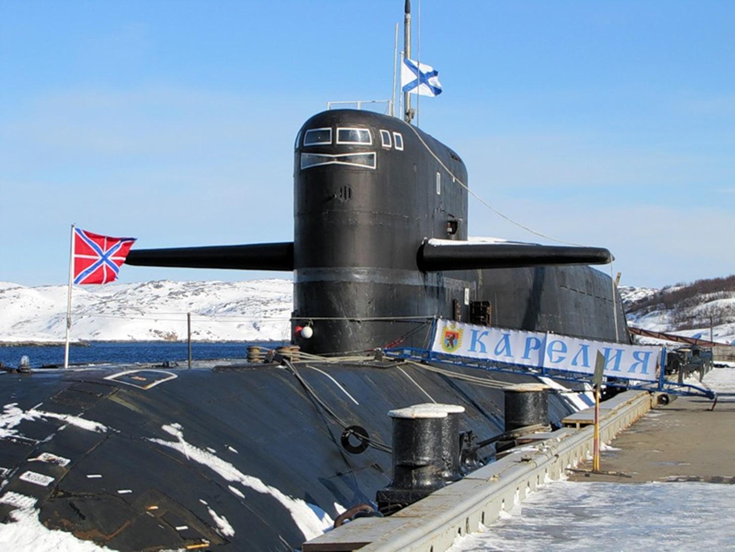 северный флот атомные подводные лодки